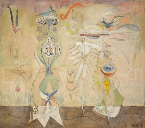 Mark Rothko, Slow Swirl at Edge of the Sea, 1944, © 1998 Kate Rothko Prizel & Christopher Rothko / Artists Rights Society (ARS), New York