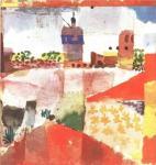 Paul Klee, Hammamet with mosque, 1914