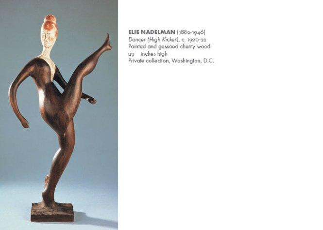 Elie Nadelman, Dancer, ca. 1918-1919