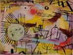 Paul Klee, Rising Sun, 1907