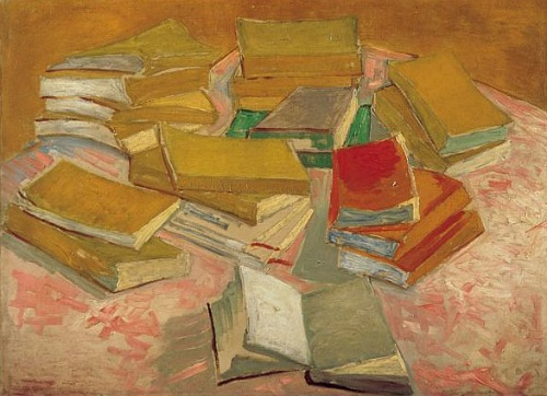 incent van Gogh, Piles of French novels, 1888