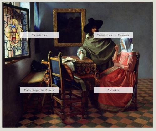 Johannes Vermeer Gallery Box