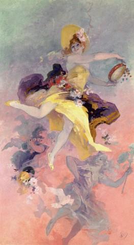 Artistic Inspiration: Jules Cheret  (1836-1932)