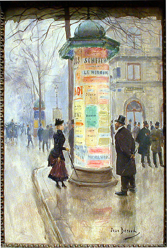 Jean Béraud, Parisian Street Scene, ca. 1885
