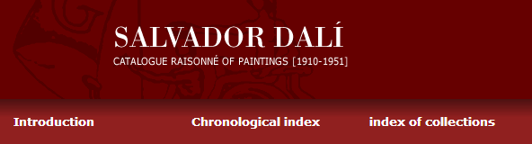 Catalogue raisonné of Salvador Dalí