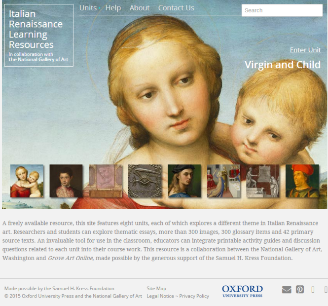Italian Renaissance Learning Resources