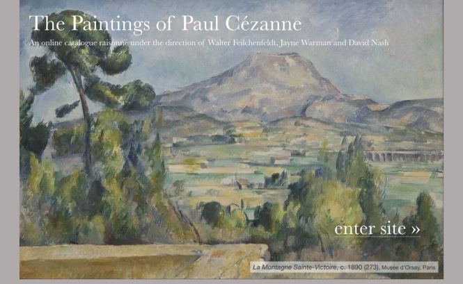 The Paintings of Paul Cézanne: An online catalogue raisonné - www.cezannecatalogue.com